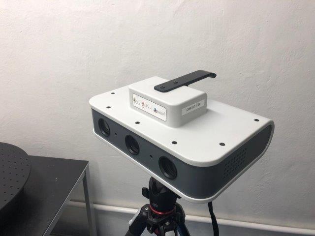 Engenharia reversa scanner 3d